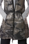 Anorak - Camo Long Vest (50171CAZP, Black Camo) alt view 4