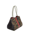 Haute Shore - Greyson Brat2 Neoprene Tote Bag w/Zipper Wristlet Inside (Greyson, Camo Gren w/Black & Red Stripe) alt view 1