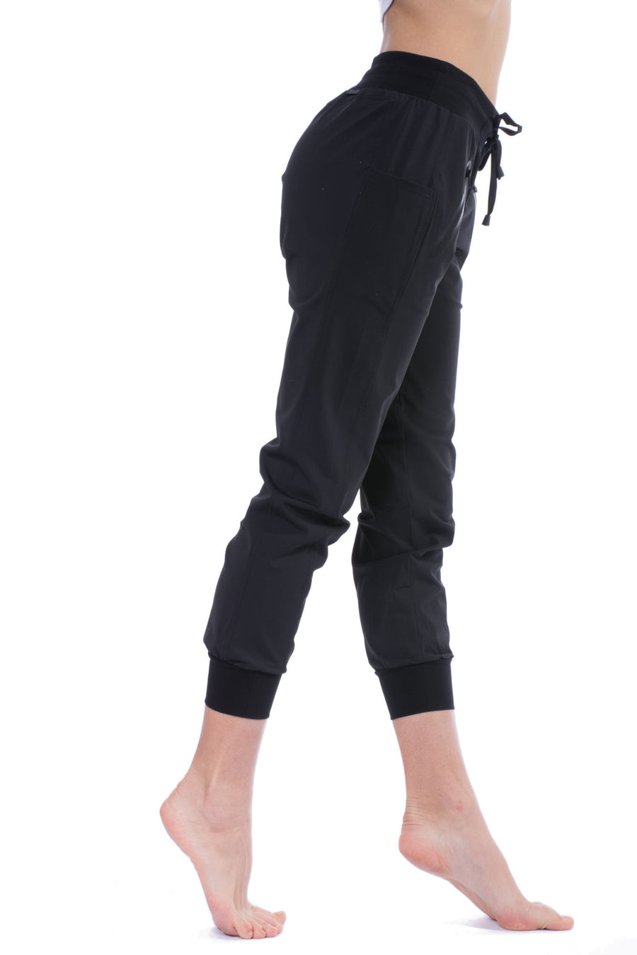 Jegging Tech Pant (Style BLP2000, Black) by Blanc Noir