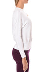 Hard Tail Forever - Crew Neck Long Sleeve Banded Waist (T-216, Dragon Fruit) alt view 1