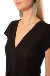 Sanctuary - Ingrid Tie Front Top (T2663-KS289, Black) alt view 4