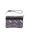 Haute Shore - Greyson Rebel Neoprene Tote Bag w/Zipper Wristlet Inside (Rebel, Gray Python w/Heather Marle Sides) alt view 4