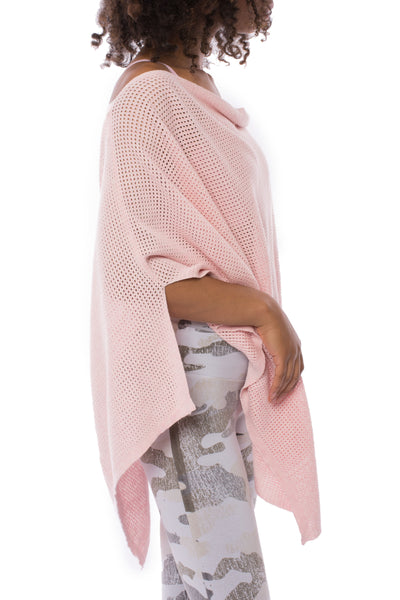 Poncho (Style S4549C17, Tearose) by Minnie Rose alt view 1