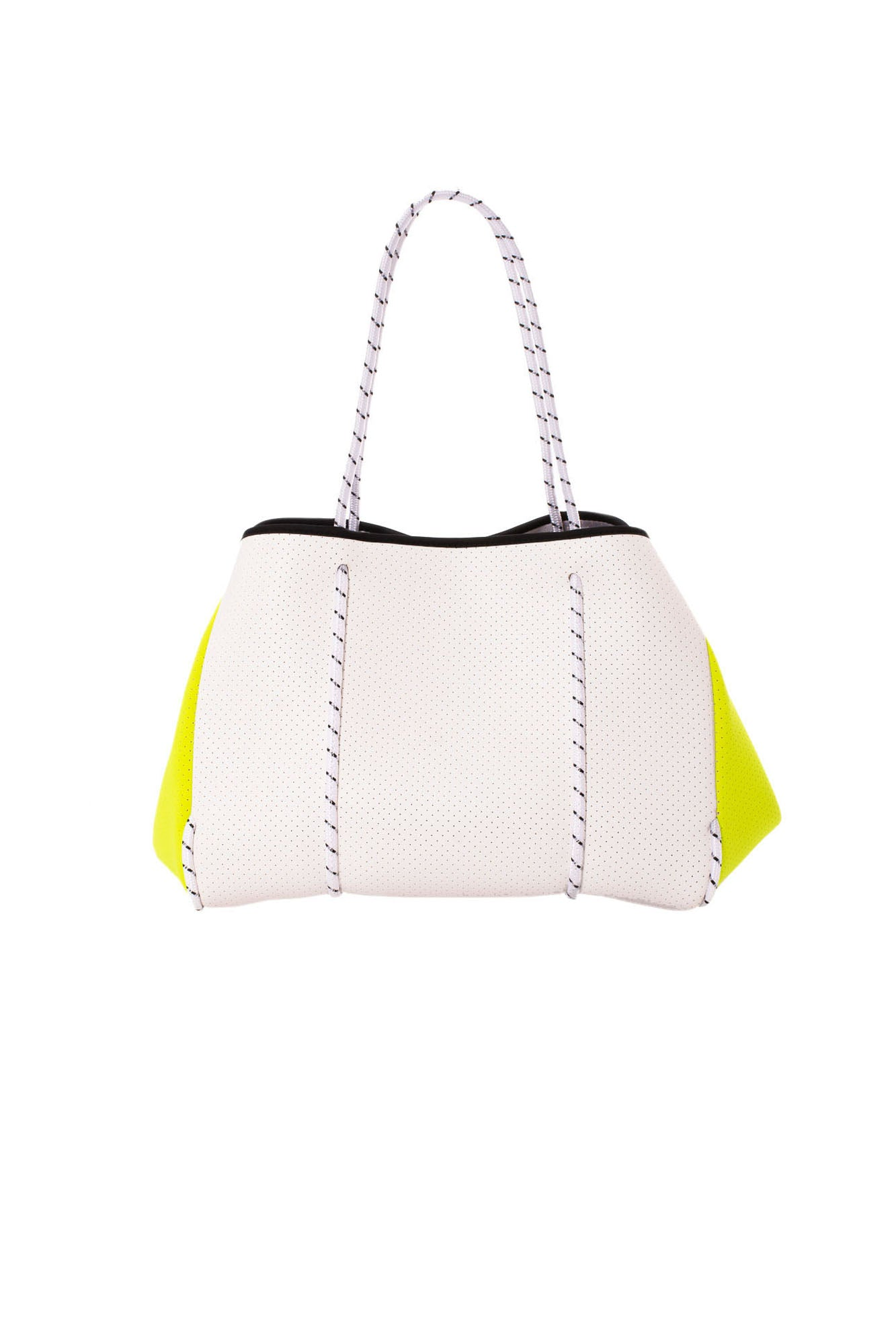 Greyson Vision Tote Bag with/Tethered Removable Wristlet (Style Vision, Neon Yellow/Green) by Haute Shore