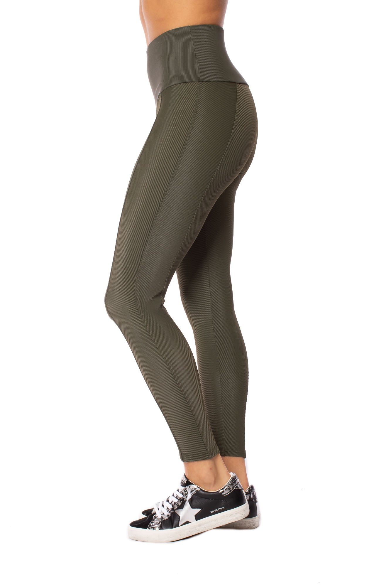 Onzie - Sweetheart Midi Leggings (2218, Olive) alt view 2