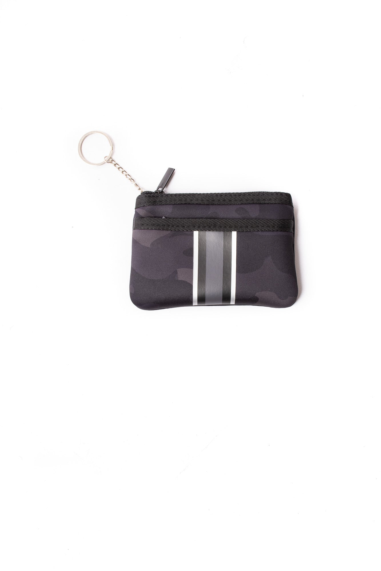 Haute Shore - Ellite Card Case (Max, Black Camo w/Black & White Stripes)