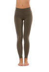 Hard Tail Forever - Cotton/Lycra High Rise Legging (W-566, Thyme)