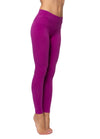 High Rise Ankle Legging (Style W-566, Berry) by Hard Tail Forever