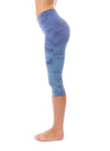 Hard Tail Forever - Hi Rise Knee Legging (W-943, Tie-Dye RH83) alt view 1