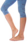 Hard Tail Forever - Hi Rise Knee Legging (W-943, Tie-Dye RH83) alt view 5