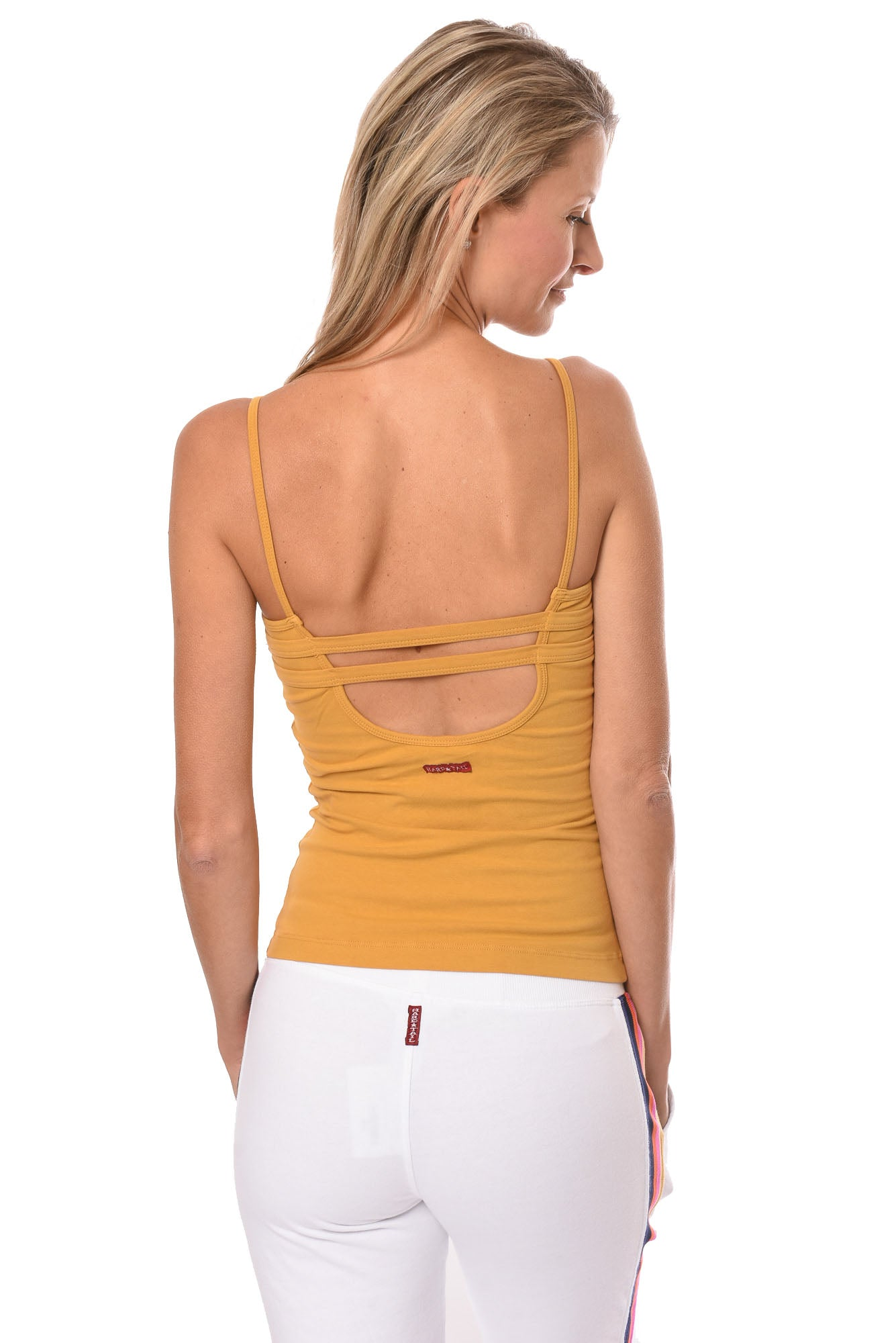 Hard Tail Forever - Strap Back Tank  (W-942, Honey)