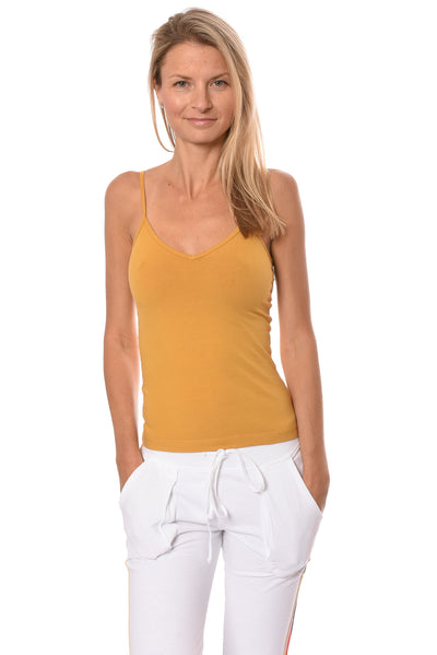 Hard Tail Forever - Strap Back Tank  (W-942, Honey) alt view 5
