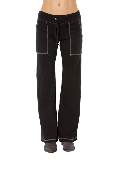 Hard Tail Forever - Easy Pocket Lounge Pant W/Lurex (HGF-07, Black)