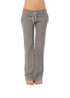 Hard Tail Forever - Easy Pocket Lounge Pant W/Lurex (HGF-07, Heather Gray w/Gold Lurex)