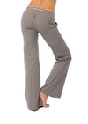 Hard Tail Forever - Easy Pocket Lounge Pant W/Lurex (HGF-07, Heather Gray w/Gold Lurex) alt view 3