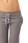 Hard Tail Forever - Easy Pocket Lounge Pant W/Lurex (HGF-07, Heather Gray w/Gold Lurex) alt view 6