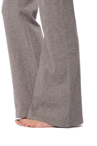 Hard Tail Forever - Easy Pocket Lounge Pant W/Lurex (HGF-07, Heather Gray w/Gold Lurex) alt view 7