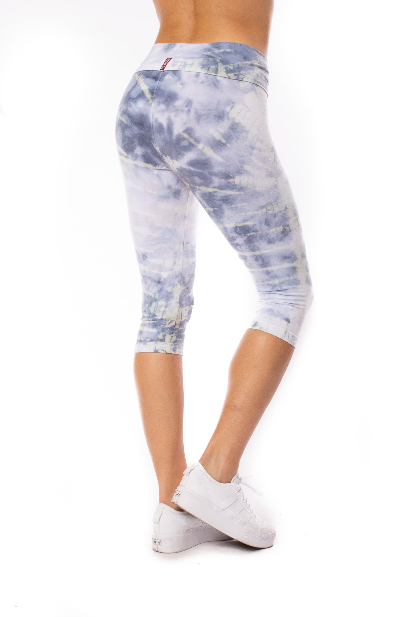 Hard Tail Forever - Roll Down Knee Legging (W-394, Tie-Dye STW2)