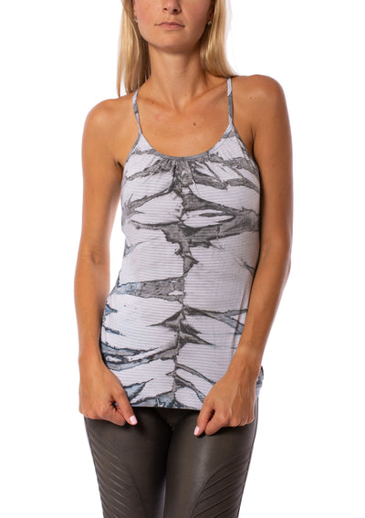 Cotton Mesh Femme Tank (Style 337-809, Tie-Dye ESK2) by Hard Tail Forever