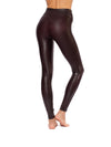 Spanx - Faux Leather Leggings (2437, Wine) alt view 1