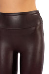 Spanx - Faux Leather Leggings (2437, Wine) alt view 3