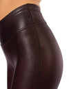 Spanx - Faux Leather Leggings (2437, Wine) alt view 4