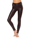 Spanx - Faux Leather Leggings (2437, Wine) alt view 5
