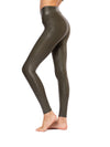 Spanx - Faux Leather Leggings (2437, Olive)