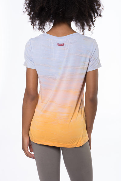 Basic Scoop T (Style SIR-53, Tie-Dye RH61) by Hard Tail Forever alt view 2