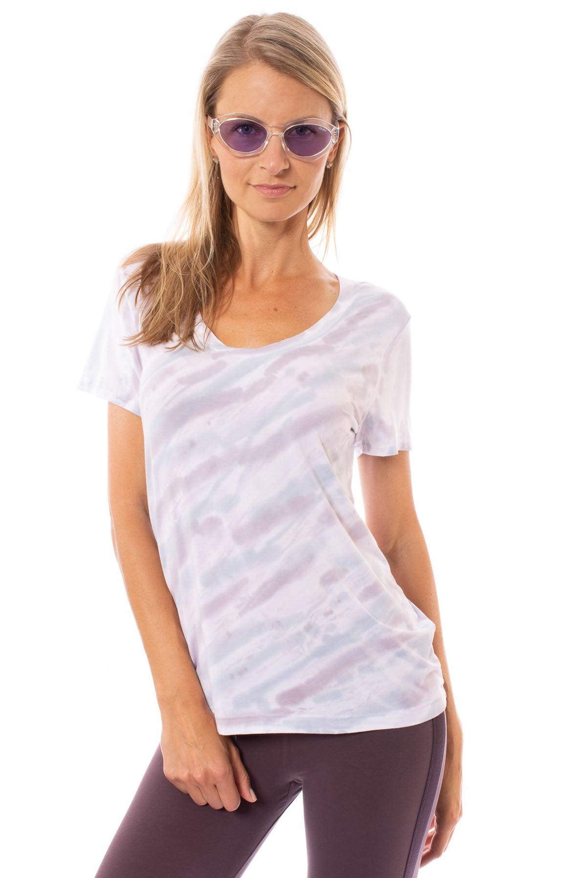 Hard Tail Forever - Basic Scoop Tee (SIR-53, Tie-Dye DSW4)