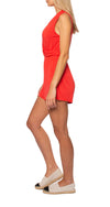 LA Made - Feel Good Romper (R2047, Flame) alt view 1
