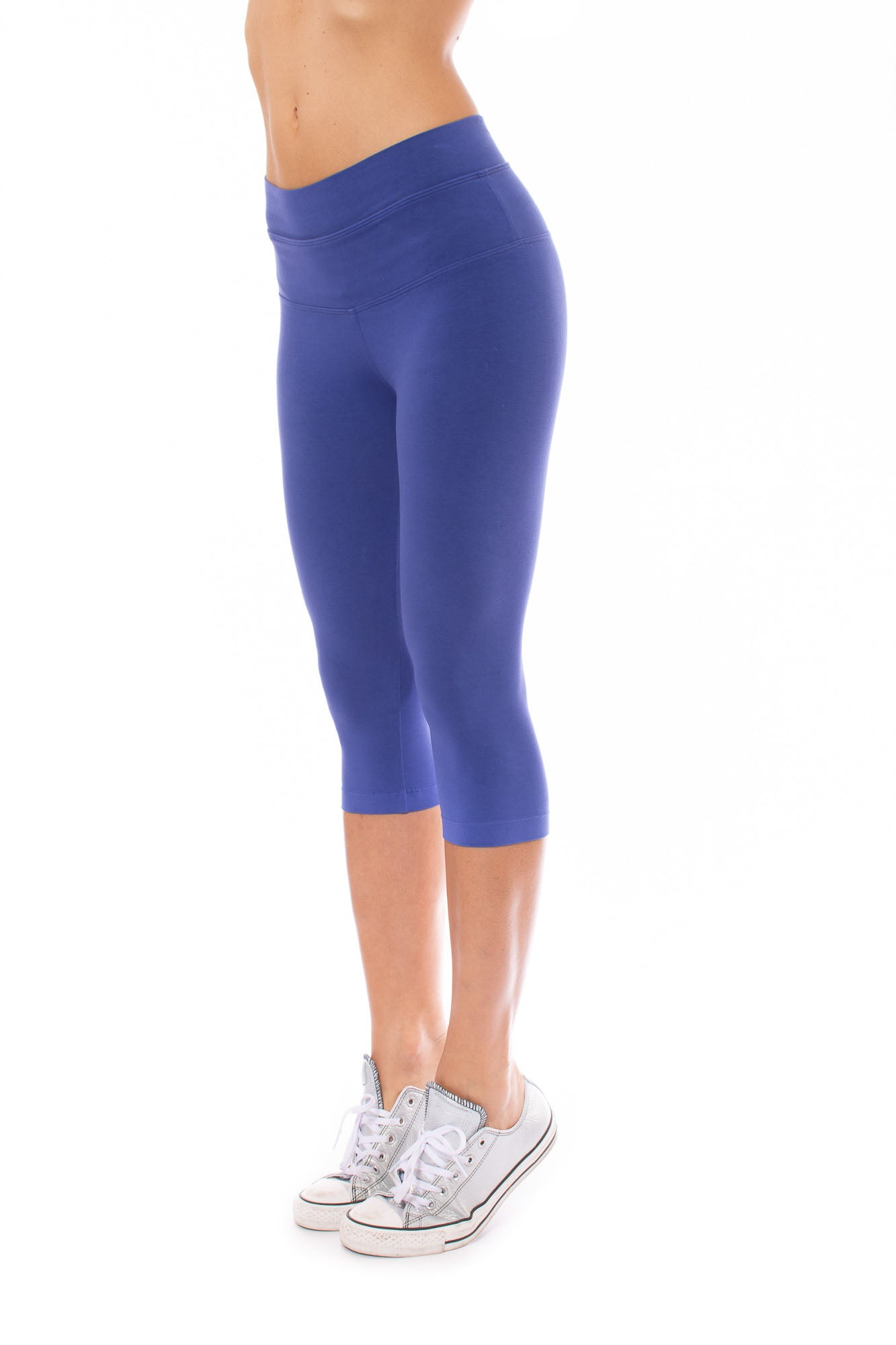 Hard Tail Forever - Hi Rise Knee Legging (W-943, Butterfly Safire)