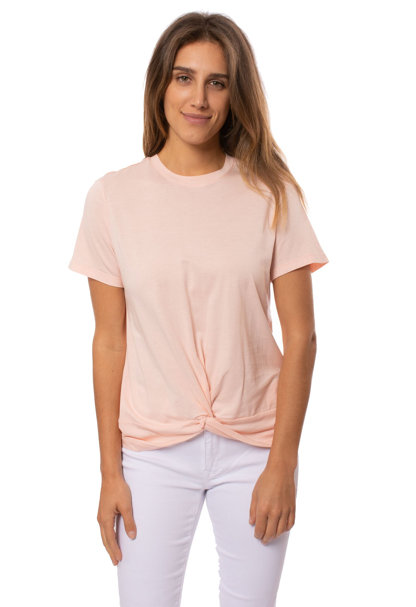 Velvet Heart - Lizette Shirt (KVY-22449, Peach)