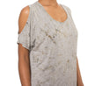 Open Shoulder Tee (Style HVIS-07, Tie-Dye SMA1) by Hard Tail Forever