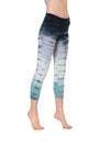Roll Down Layered Legging (Style 588, Tie-Dye RH58) by Hard Tail Forever