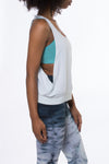Side Cross Tank (Style BRIL-01, Mist) by Hard Tail Forever alt view 1