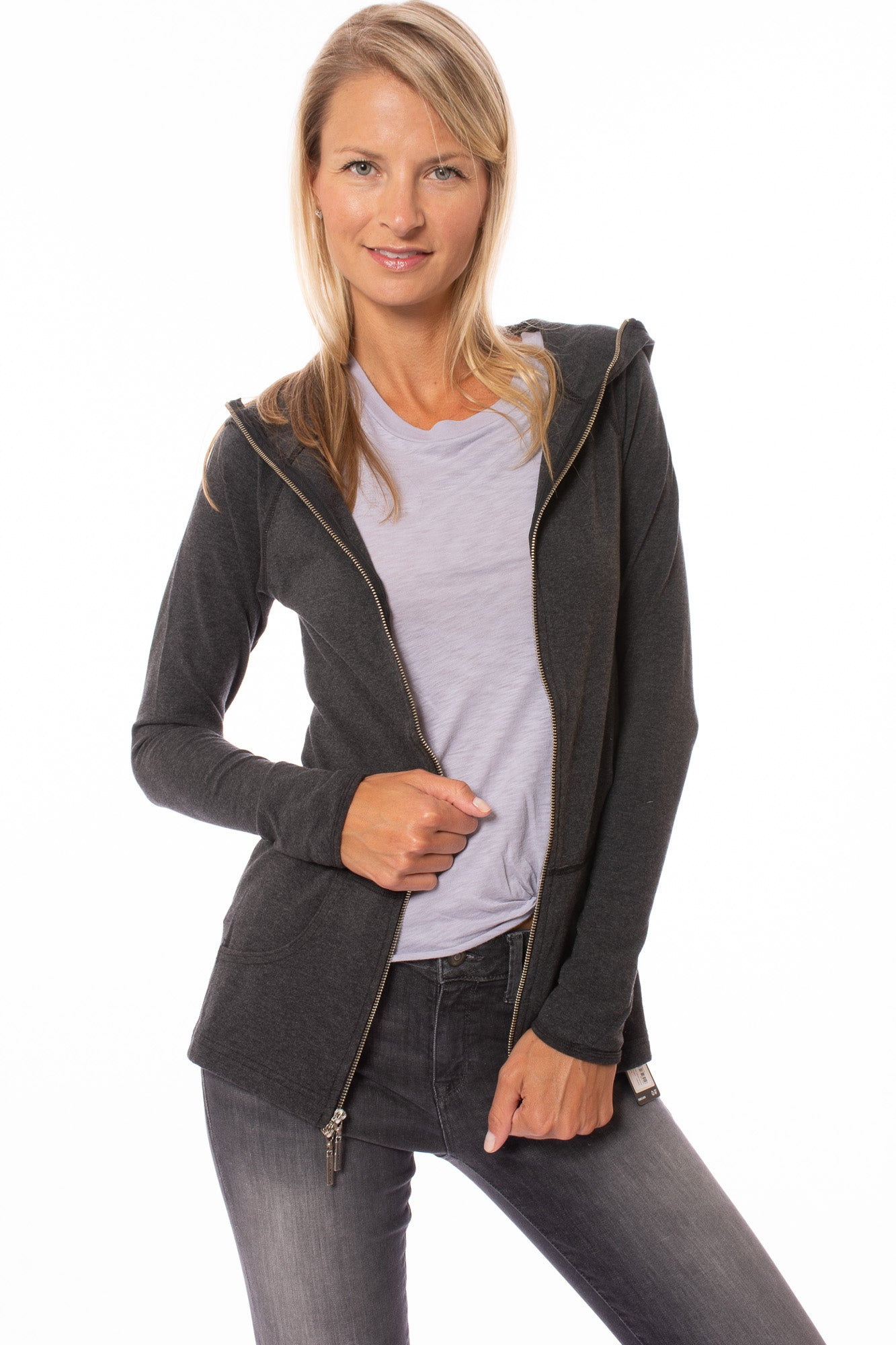 Hard Tail Forever - Athena Jacket (W-469, Dark Charcoal)