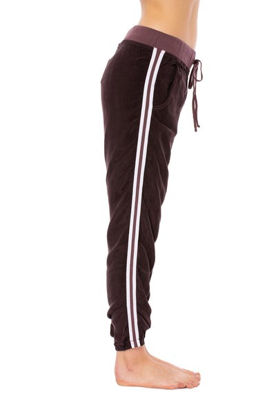 Hard Tail Forever - Bemberg Speed Racer Pant w/Elastic Ankles (BEM71, Dark Night Mauve)
