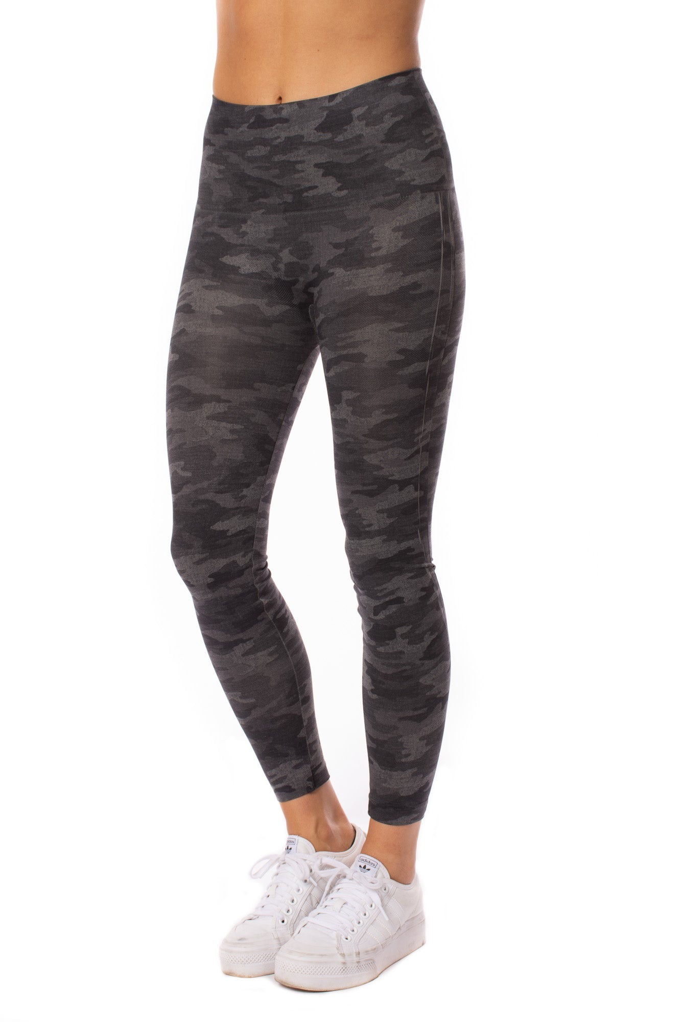Spanx - Look At Me Know Legging (fl3515, Gray Camo)