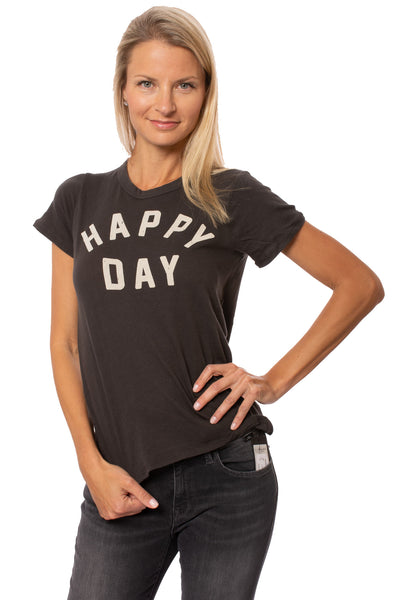 Chaser - Happy Day Vintage Black T (CW7393-CHA4486, Vintage Black)