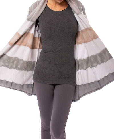 Hard Tail Forever - Slouchy Cardigan (SHE-02, Tie-Dye Heather & AND4) alt view 6