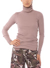 Hard Tail Forever - Fitted Thermal Long Sleeve Turtleneck (TH-35, Mauve)