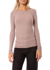 Hard Tail Forever - Long Sleeve Thermal Vintage Tee (TH-28, Mauve)