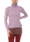 Hard Tail Forever - Fitted Thermal Long Sleeve Turtleneck (TH-35, Lavender)