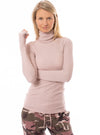 Hard Tail Forever - Thermal Long Sleeve Turtle Neck (TH-35, Rose)