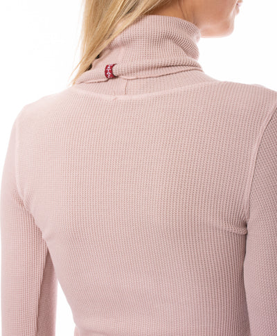 Hard Tail Forever - Thermal Long Sleeve Turtle Neck (TH-35, Rose) alt view 3