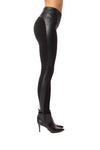 Lysse - Kent Legging W/Side Faux Leather (2309, Black) alt view 1