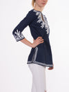 Reef Tunic (Style REEF-TUNIC, Navy/White) by Green Meem alt view 6