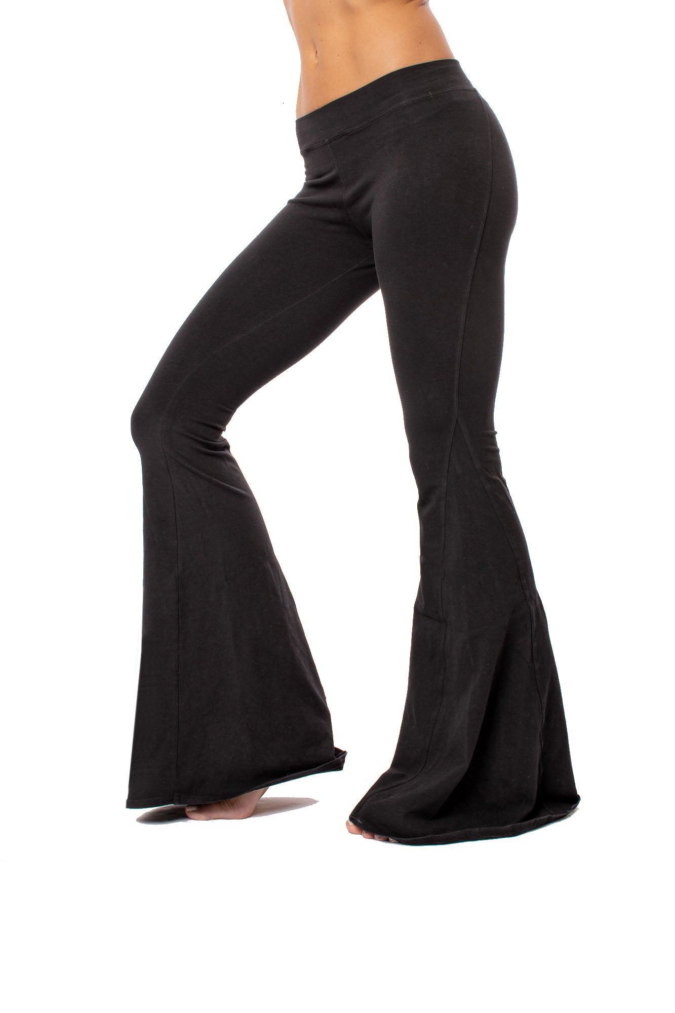 Hard Tail Forever - Hippie Chick Flare Pant (W-948, Black)