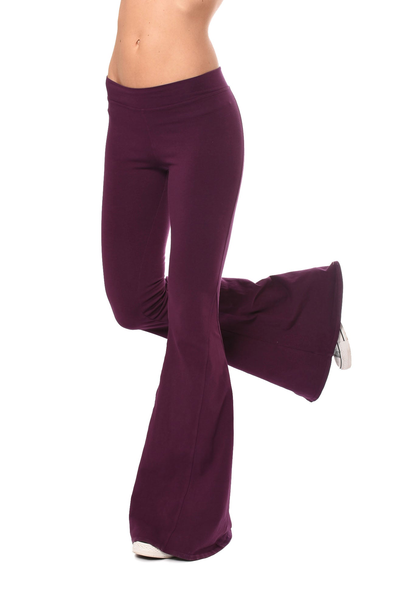 Hard Tail Forever - Hippie Chick Flare Pant (W-948, Jam)